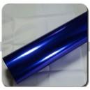 Chromovaná zrcadlová modrá polepová fólie 152x50cm - interiér/exteriér_1