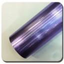 4D Karbonová chromovaná fialová polepová fólie 152x50cm - interiér/exteriér_1