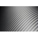 Karbonová 4D stříbrná polepová fólie 152x50cm - interiér/exteriér