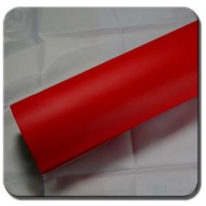 Matná mrazivá červená polepová fólie 152x700cm - interiér/exteriér_1
