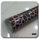 Imitace kůže leopard zlatý polepová fólie 152x50cm - interiér/exteriér_1