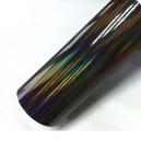 Duhová chromovaná šedá polepová fólie 142x50cm - interiér/exteriér_1