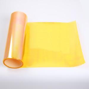 Světlá žlutá fólie na světla 30x50cm_1