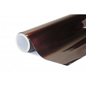 Super lesklá metalická tmavá červená polepová fólie 152x1800cm - interiér/exterié_1